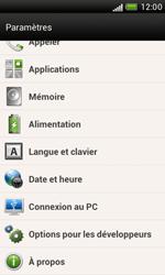 HTC Desire X - Logiciels - Installation de mises à jour - Étape 6