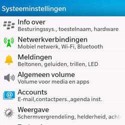 BlackBerry Q10 - WiFi - Handmatig instellen - Stap 5