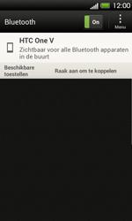 HTC T320e One V - bluetooth - aanzetten - stap 7