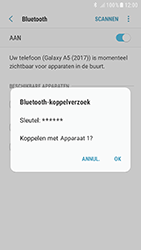 Samsung Galaxy A3 (2017) - Android Nougat - Bluetooth - Headset, carkit verbinding - Stap 8