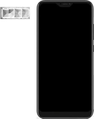 Xiaomi Mi A2 Lite - Toestel - simkaart plaatsen - Stap 3