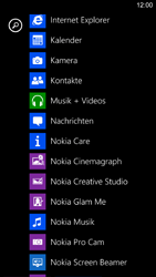 Nokia Lumia 1520 - SMS - Manuelle Konfiguration - 3 / 9