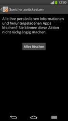 LG G Flex - Fehlerbehebung - Handy zurücksetzen - 10 / 12