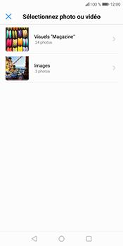 Huawei P Smart - Contact, Appels, SMS/MMS - Envoyer un MMS - Étape 14