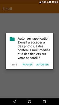 Crosscall Trekker X4 - E-mails - Ajouter ou modifier un compte e-mail - Étape 4