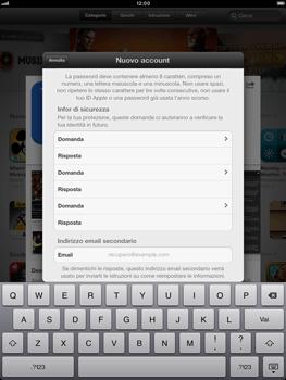 Apple iPad mini - Applicazioni - Configurazione del negozio applicazioni - Fase 16
