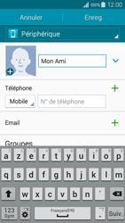 Samsung Galaxy A3 (A300FU) - Contact, Appels, SMS/MMS - Ajouter un contact - Étape 8