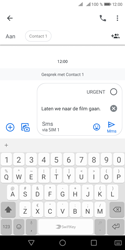 Huawei Y5 (2018) - MMS - afbeeldingen verzenden - Stap 9