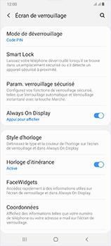 Samsung Galaxy A70 - Sécurité - activéz le code PIN de l'appareil - Étape 13