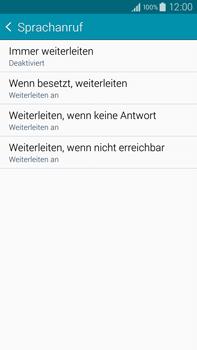 Samsung N910F Galaxy Note 4 - Anrufe - Rufumleitungen setzen und löschen - Schritt 9