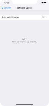 Apple iPhone XR - Software - Installing software updates - Step 8