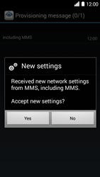 Huawei Ascend Y530 - MMS - Automatic configuration - Step 6