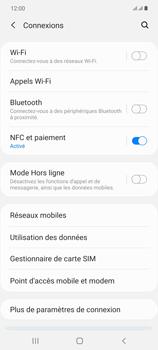 Samsung Galaxy Note20 - Internet et connexion - Désactiver la connexion Internet - Étape 5