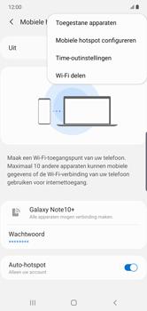Samsung galaxy-note-10-plus-single-sim-sm-n975f - WiFi - Mobiele hotspot instellen - Stap 8