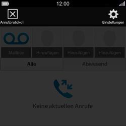 BlackBerry Q5 - Anrufe - Rufumleitungen setzen und löschen - Schritt 5