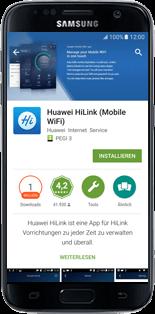 Huawei E5770 - Apps - Anwendung für das Smartphone herunterladen - Schritt 8