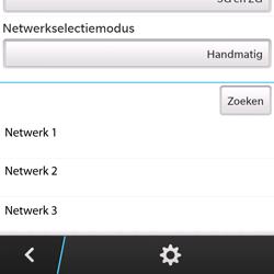 BlackBerry Q5 - netwerk en bereik - gebruik in binnen- en buitenland - stap 9