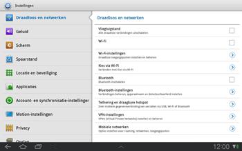 Samsung P7500 Galaxy Tab 10-1 - Internet - handmatig instellen - Stap 4