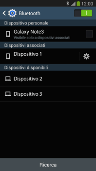 Samsung Galaxy Note III LTE - Bluetooth - Collegamento dei dispositivi - Fase 8
