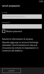 Nokia Lumia 1020 - E-mail - configurazione manuale - Fase 8