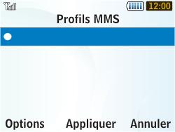 Samsung S3350 Chat 335 - MMS - Configuration manuelle - Étape 16