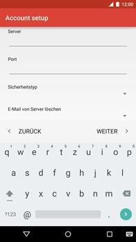 Motorola Google Nexus 6 - E-Mail - Konto einrichten - Schritt 18