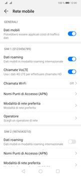 Huawei P30 - Internet e roaming dati - Disattivazione del roaming dati - Fase 5