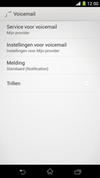 Sony D5503 Xperia Z1 Compact - voicemail - handmatig instellen - stap 6