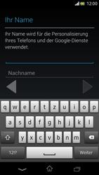 Sony Xperia V - Apps - Einrichten des App Stores - Schritt 6