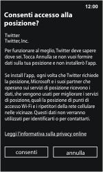 Nokia Lumia 800 / Lumia 900 - Applicazioni - Configurazione del negozio applicazioni - Fase 8
