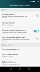 Huawei P8 Lite - Internet - Désactiver les données mobiles - Étape 6