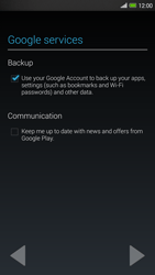 HTC One Max - Applications - Setting up the application store - Step 14