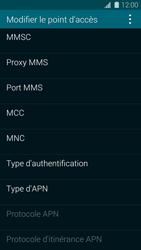 Samsung G900F Galaxy S5 - Internet - Configuration manuelle - Étape 12