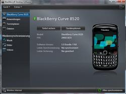 BlackBerry 8520 Curve - Software - Sicherungskopie Ihrer Daten erstellen - Schritt 6