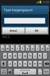 Samsung S6790 Galaxy Fame Lite - Internet - handmatig instellen - Stap 14