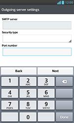 LG E975 Optimus G - Email - Manual configuration POP3 with SMTP verification - Step 14
