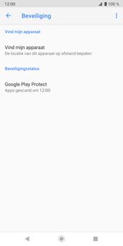 Sony Xperia XZ3 - Toestel - Stel Zoek mijn mobiel in - Stap 6