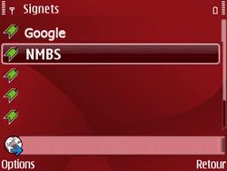 Nokia E63 - Internet - Navigation sur Internet - Étape 12
