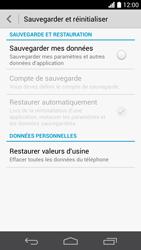 Huawei Ascend P6 - Téléphone mobile - Réinitialisation de la configuration d