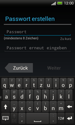 HTC One SV - Apps - Einrichten des App Stores - Schritt 8