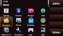 Nokia N97 Mini - E-mail - Configuration manuelle - Étape 3