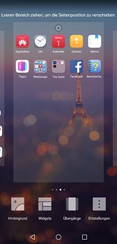 Huawei P20 - Startanleitung - Installieren von Widgets und Apps auf der Startseite - Schritt 6