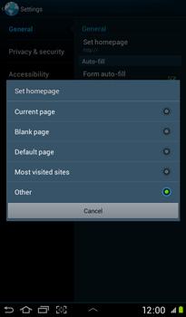 Samsung P3100 Galaxy Tab 2 7-0 - Internet - Manual configuration - Step 21