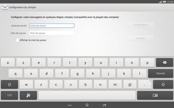 Sony Xperia Tablet Z2 LTE - E-mail - configuration manuelle - Étape 5