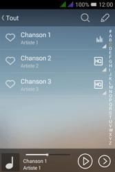 Alcatel Pixi 3 Dual Sim - Photos, vidéos, musique - Ecouter de la musique - Étape 6