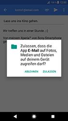 Sony Xperia XZ1 Compact - E-Mail - E-Mail versenden - 11 / 18