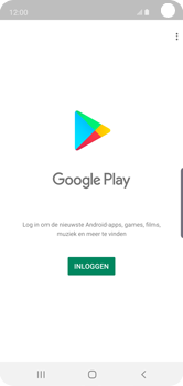 Samsung Galaxy S10e - apps - account instellen - stap 4