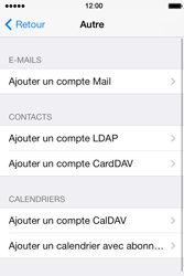 Apple iPhone 4S iOS 7 - E-mail - configuration manuelle - Étape 10