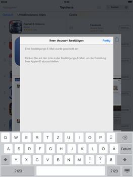 Apple iPad mini iOS 7 - Apps - Einrichten des App Stores - Schritt 23