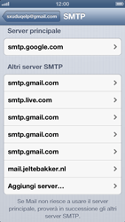 Apple iPhone 5 - E-mail - Configurazione manuale - Fase 19